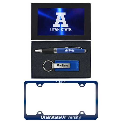 SET-A3-UTAHST-BLU: LXG Set A3 pen KC Tag, Utah State
